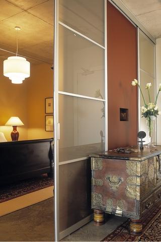 现代风格别墅效果套图卧室陈设