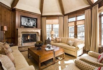 法式别墅套图欣赏客厅全景