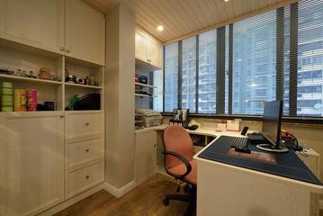 135平简约三居室欣赏书房窗户