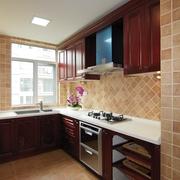 厨房木质壁柜