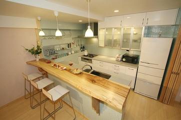 日式温馨三居室欣赏厨房