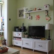 62平简约小两居案例欣赏客厅电视柜