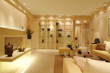东南亚风格住宅设计客厅陈设