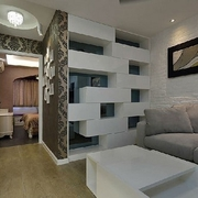 82平现代三居室温馨之家