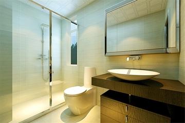 新古典温馨三居欣赏卫生间室内门