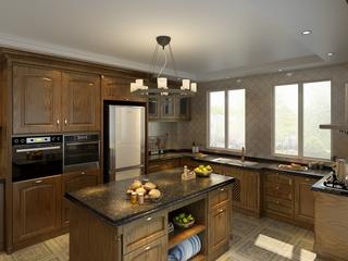 欧式奢华住宅欣赏厨房设计