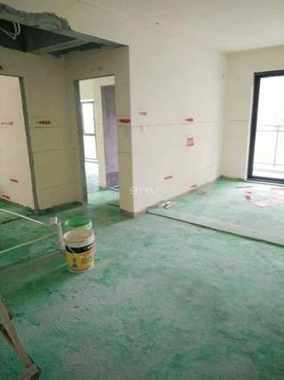 工地实拍:头一次见黄墙绿地和标准放线,地漏位置提前确认!