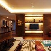 中式套图客厅背景墙设计