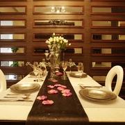 现代美式家装的清新格调餐厅设计