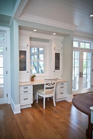 135平美式四室两厅欣赏卧室过道