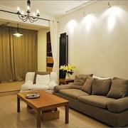 63平温馨简约一居室欣赏