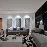 中式家居风格简约客厅一角