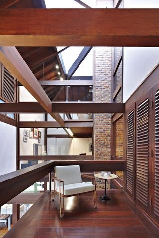 东南亚风格别墅过道设计