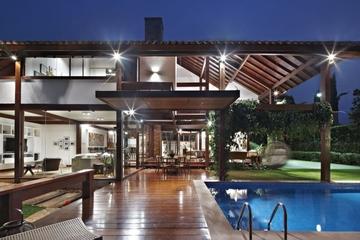 东南亚风格别墅庭院