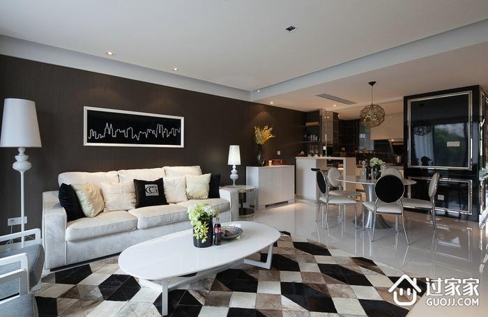 现代风三居室案例欣赏