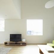 112平日式风格住宅欣赏客厅过道