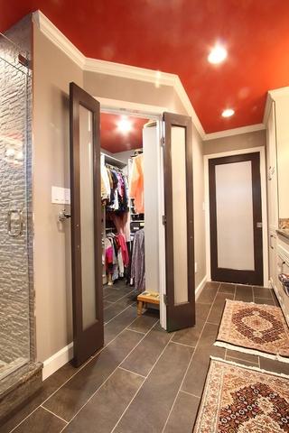 美式装饰风格住宅设计室内门