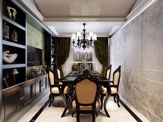 85平新古典住宅欣赏餐厅