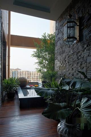 新古典别墅设计花园效果图