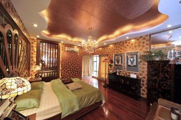 深情东南亚住宅欣赏卧室陈设