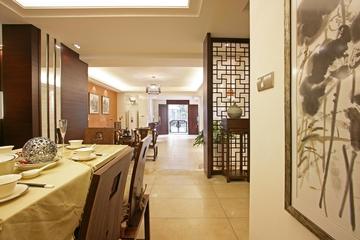 中式风格时尚客厅效果图大全