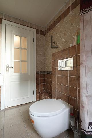 98平美式家居欣赏卫生间设计