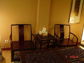 实木仿古家具茶桌图片