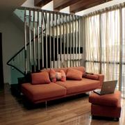 现代风客厅休闲区效果图