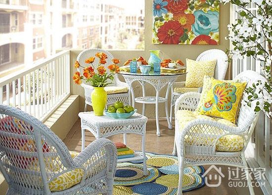 8款休闲阳台设计 为家建个后花园