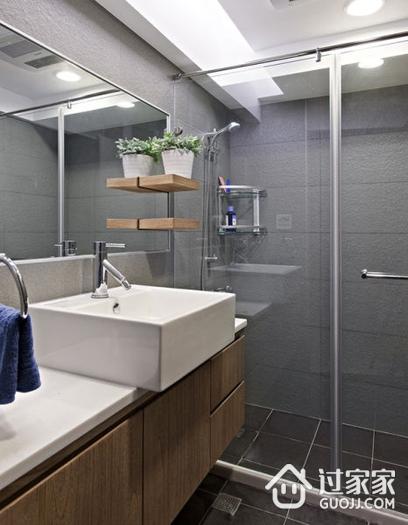 白色现代美宅欣赏卫生间吊顶