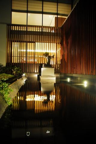 新中式庭院美景效果