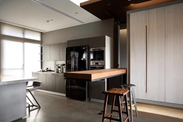 现代风格住宅套图设计吧台效果图