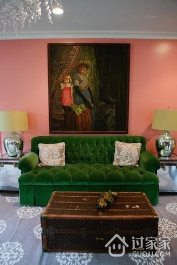 亮丽多彩简约住宅欣赏客厅设计
