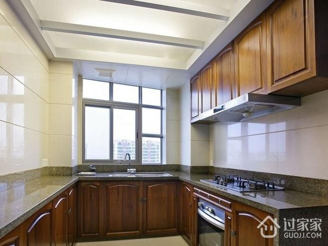 都是现代白领住宅欣赏厨房