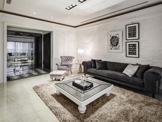 新古典设计装饰住宅效果图欣赏