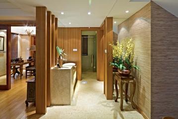 东南亚别墅设计卫生间效果