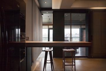 现代风格住宅套图设计吧台全景