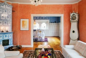 多彩北欧三居室欣赏客厅背景墙