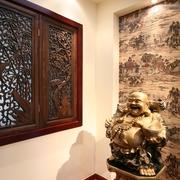 中国风中式窗户效果图