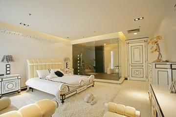 豪华欧式风格卧室洗手间