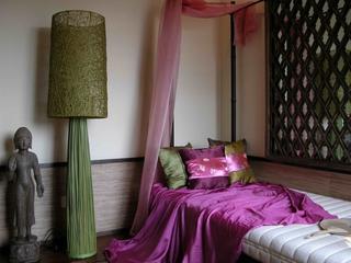 东南亚复式床品