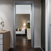 现代优雅别墅室内门