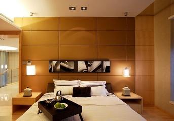 日式温馨复式住宅欣赏卧室