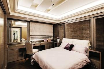 140平欧式大宅欣赏卧室吊顶设计
