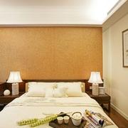 中式风格卧室床效果图
