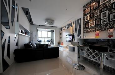 99平现代风三居欣赏卧室吊顶设计