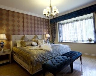 简约舒适三居室案例设计欣赏卧室飘窗