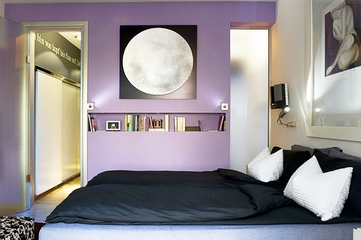 前卫现代复式公寓欣赏卧室陈设