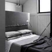 现代简约风格卧室床