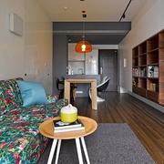 现代风格小户型效果图卧室陈设